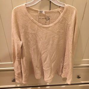 Free People Beige Size XS Sweater